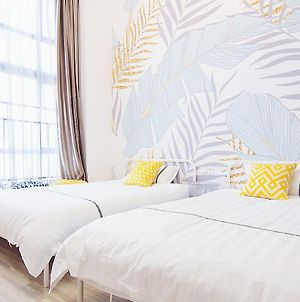 North Europe Loft Three Bed Two Bathroom Family Suite Near Fanyu Changlong Zoo photos Exterior