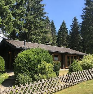 Wooden Bungalow With Oven, In Oberharz Near A Lake photos Exterior