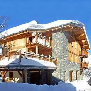 Luxury Chalet In Bourg Saint Maurice With Fireplace photos Exterior