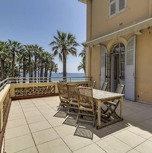 Hibert Cannes Appart 6 Pers Terrasse Face A La Mer photos Exterior