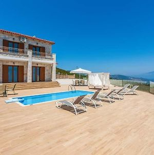 Koroni Villa Sleeps 5 Pool Air Con Wifi photos Exterior
