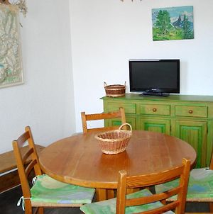 Studio In Montchavin With Wonderful Mountain View Furnished Garden And Wifi 8 Km From The Slopes photos Exterior