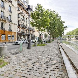 Amazing Studio For 4 Near Canal Saint Martin photos Exterior