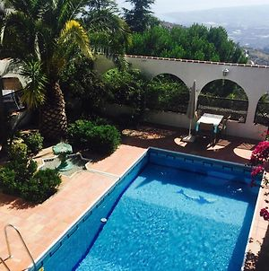 House With 3 Bedrooms In Sayalonga With Wonderful Sea View Private Pool Furnished Garden 12 Km From The Beach photos Exterior