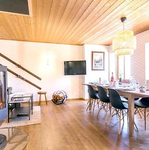 Chalet With 5 Bedrooms In Les Arcs With Wonderful Mountain View Furnished Garden And Wifi 500 M From The Slopes photos Exterior