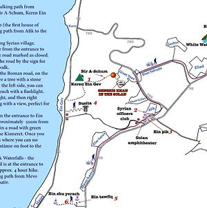 Sea Of Galilee - Genghis Khan In The Golan photos Exterior