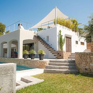 Cala Tarida Villa Sleeps 10 Pool Air Con Wifi photos Exterior