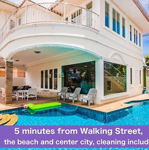 Tewaree Villa - Pattaya Holiday House Walking Street 4 Bedrooms photos Exterior