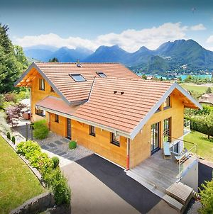 Rare Luxury Villa For 8 In Lake Annecy With Heated Pool Sauna & Garden Easy Access To Aravis Mountains photos Exterior