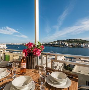 Bayview 2 Bedroom Seaview Apartment With Large Terrace With Panoramic Views - By Getawaysmalta photos Exterior