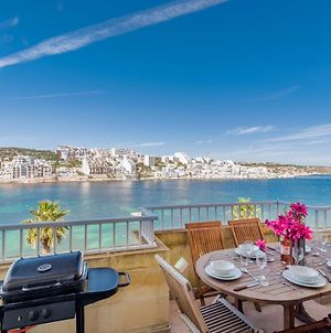 Blue Harbour Seafront 3 Bedroom Apartment, With Large Sea View Terrace With Spectacular Views - By Getawaysmalta photos Exterior