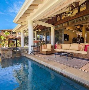 Elegant Home With Hot Tub And Pool In Princeville photos Exterior