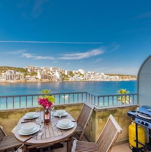 Blue Harbour 2 Bedroom Seafront Apartment In St Paul'S Bay photos Exterior
