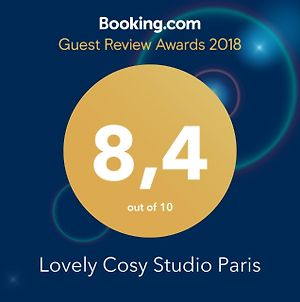 Lovely Cosy Studio Paris photos Exterior