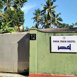 Hikka Train Hostel@ Surf Beach photos Exterior
