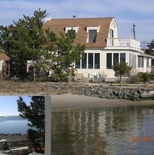 Ship Bottom Bay Front Home. Public Bay Beach At Property. Marina 1 Block Away. 122812 photos Exterior