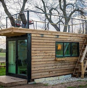 Elegant Container Home Tiny House#1 Near Magnolia photos Exterior