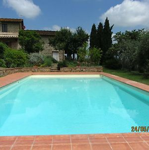 Independent Apartment In A Farmhouse With Attached Pool Located In Chianti photos Exterior