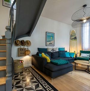Surf Shack Keyweek Very Cosy And Well Decorated Townhouse In Biarritz photos Exterior