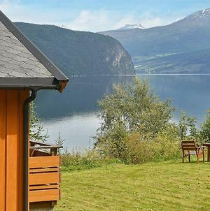 Three-Bedroom Holiday Home In Utvik 1 photos Exterior