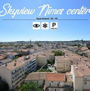 Skyview Nimes Center Appart 53_10, Parking, Clim photos Exterior