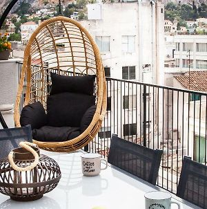 Cozy Penthouse With Stunning View To Acropolis! photos Exterior
