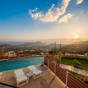 New Villa Plakias Sunset With Pool & Childrens Area, Walk To Restaurant photos Exterior