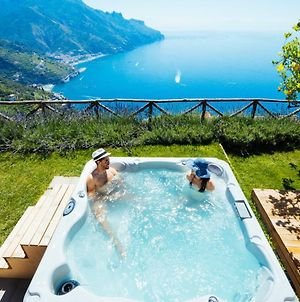 Sea View Villa In Ravello With Lemon Pergola, Gardens And Jacuzzi - Ideal For Elopements photos Exterior