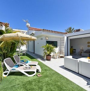 Cozy Bungalow For 6 In Playa Del Ingles Gd04 photos Exterior