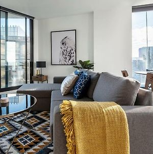 2Bedroom Apartment With Views In Docklands Next To Cbd & Marvel Stadium photos Exterior