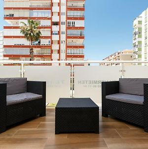 Beautiful And Modern 1B Apt Big Terrace 150 M From The Beach Of Torre Del Mar photos Exterior