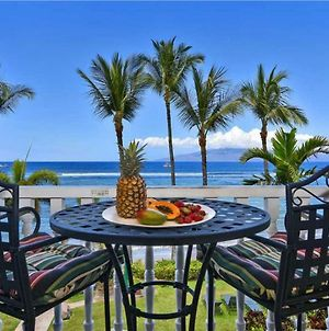 Studio Ocean Front Condo In Lahaina Town Sleeps 2 Lahaina Shores #317 photos Exterior