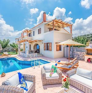 New Villa Kantifes 4 Families Or Couples With Private Pool & Bbq photos Exterior