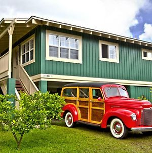 Sweet Hanalei Home! Bright, Airy, Clean, Minutes Walk/Block To Hanalei Bay! photos Exterior