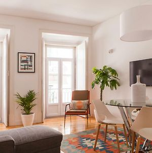 Cozy 1St Floor Flat Central Chiado District With Balconies And Ac 19Th Century Building photos Exterior