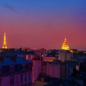 Eiffel Tower View + Terrace Saint Germain Des Pres photos Exterior
