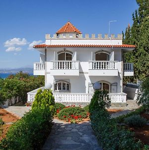 Panoramic View Luxury Villa By The Sea In Paralia Avlidas photos Exterior
