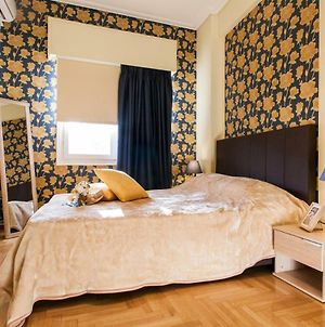 Private Central View Rooms In Apartment Near To Acropolis Metro Station photos Exterior