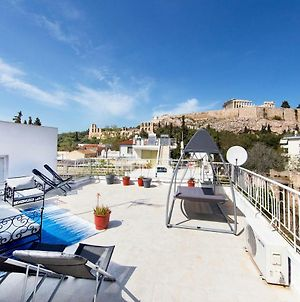 Your Home Under The Acropolis, Roofdeck With View! photos Exterior
