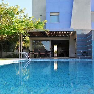 Deluxe 3Bd Pool Villa In Chrousso Beach Paliouri photos Exterior