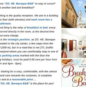 Zo. Ne. Baroque B&B photos Exterior