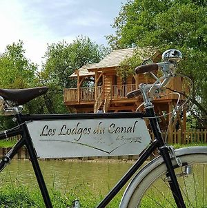 Les Lodges Du Canal De Bourgogne photos Exterior