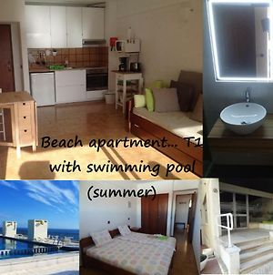 Beach Apartment... T1 With Swimming Pool photos Exterior