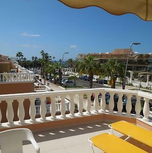 Beachfront-Apartment Las Vistas 1 With Sea-View, Heated, Pool, Wifi, Sat-Tv photos Exterior