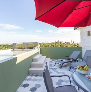 Villa Parota - Romantic 1Br Penthouse With Private Pool At Aldea Zama photos Exterior