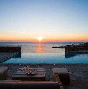 Luxury Cycladic Villa-Enjoy Infinity Pool Sunsets photos Exterior