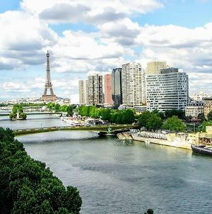 Luxe Eiffel Tower And Seine River photos Exterior