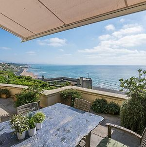 Ametsa, Luxury Flat, Terrace And Wonderful Seaview, In Biarritz photos Exterior
