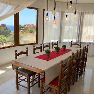 Large & Comfortable Villa Marinera With Swimming Pool And Seaview In Calpe photos Exterior