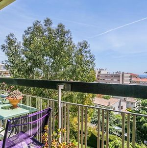 Sunny Flat With Balcony And View Over The Sea In Antibes photos Exterior
